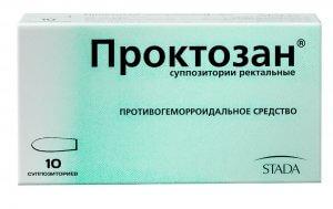 Проктозан помогает справиться с кровотечением