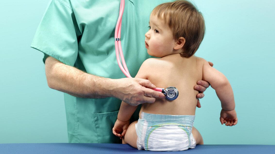 Вирусная пневмония у детей: симптомы, методы коррекции и профилактика болезни