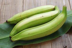 Пищевая ценность зеленого и желтого цвета бананов