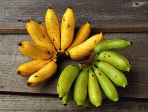 Преимущества и недостатки спелых и зеленых бананов